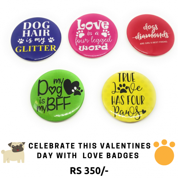 Badges For Dog Lovers